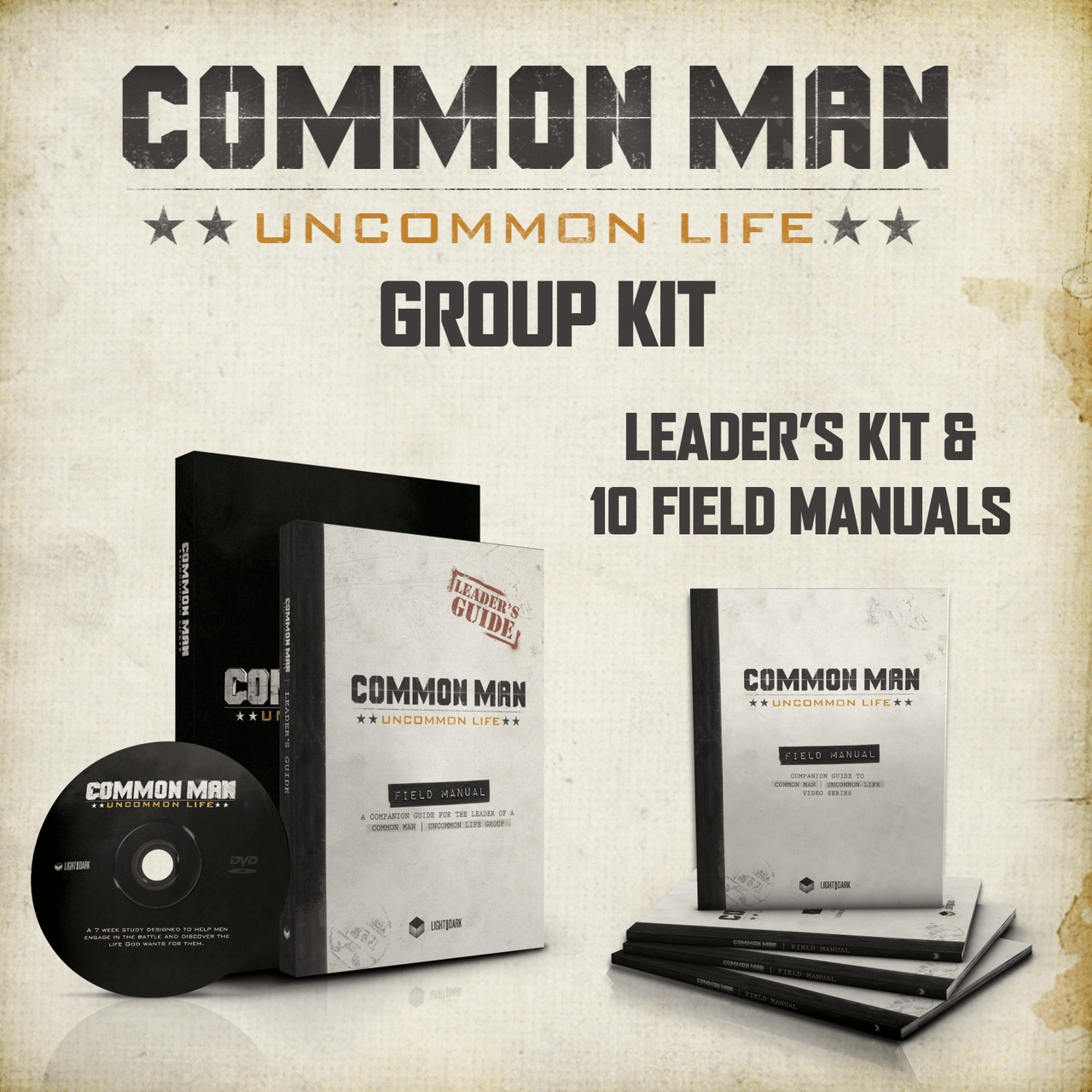 Common Man Uncommon Life Group Kit